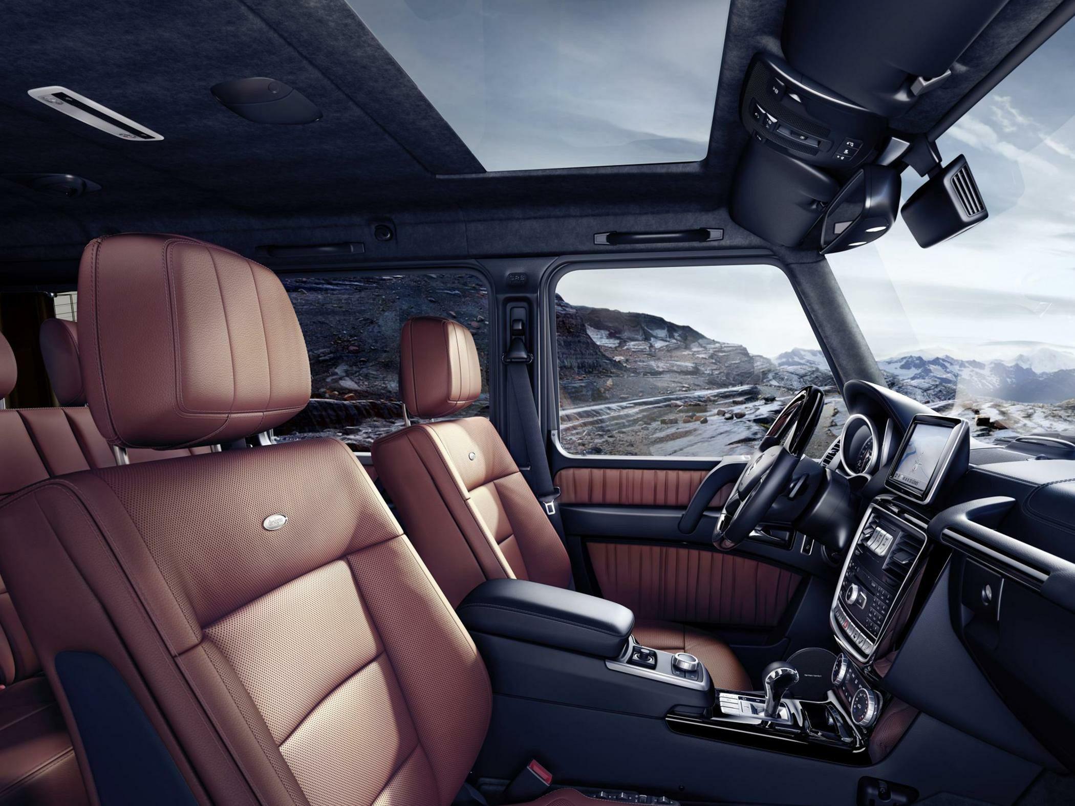 2016 MercedesBenz G550 Styles  Features Highlights