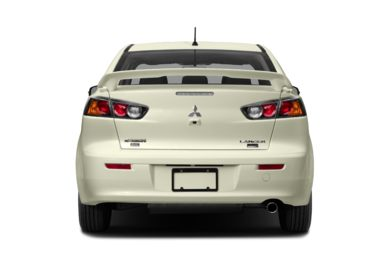 Rear Profile  2017 Mitsubishi Lancer