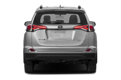 Rear Profile  2017 Toyota RAV4