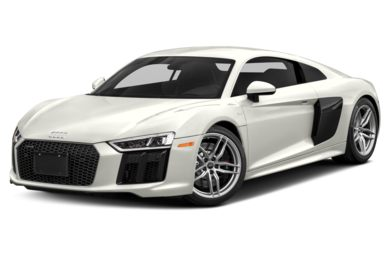 3/4 Front Glamour 2018 Audi R8