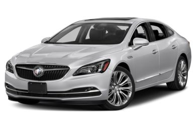 3/4 Front Glamour 2017 Buick LaCrosse