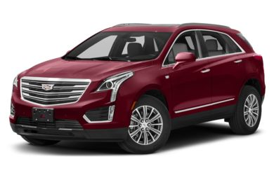 3/4 Front Glamour 2018 Cadillac XT5