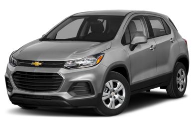 3/4 Front Glamour 2018 Chevrolet Trax