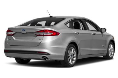 3/4 Rear Glamour  2017 Ford Fusion Energi