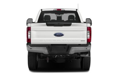 Rear Profile  2017 Ford F-350