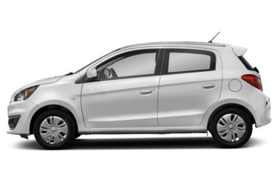 90 Degree Profile 2017 Mitsubishi Mirage