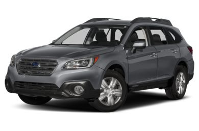 3/4 Front Glamour 2017 Subaru Outback