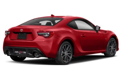 3/4 Rear Glamour  2018 Toyota 86