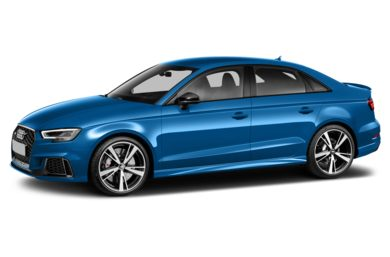 3/4 Front Glamour 2018 Audi RS 3
