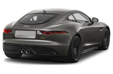 3/4 Rear Glamour  2018 Jaguar F-TYPE