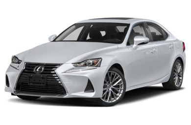 3/4 Front Glamour 2018 Lexus IS 300