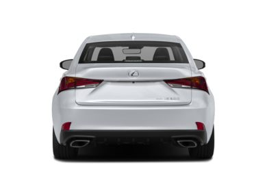 Rear Profile  2018 Lexus IS 300