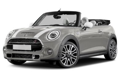 3/4 Front Glamour 2019 MINI Convertible