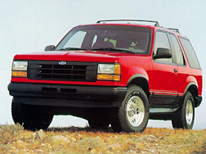 1992 ford explorer specs safety rating mpg carsdirect. Black Bedroom Furniture Sets. Home Design Ideas