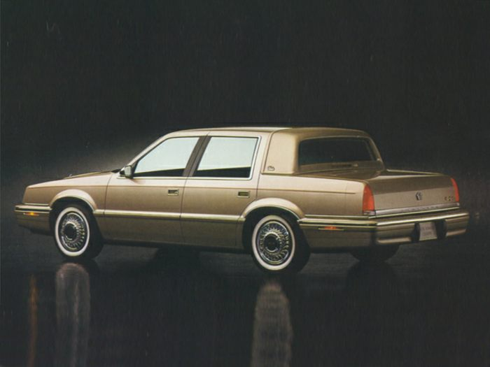 1993 chrysler new yorker specs safety rating mpg for 93 chrysler new yorker salon