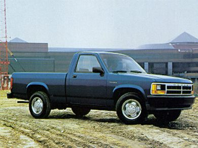 3/4 Front Glamour 1993 Dodge Dakota