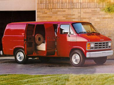 3/4 Front Glamour 1993 Dodge B150 Ram