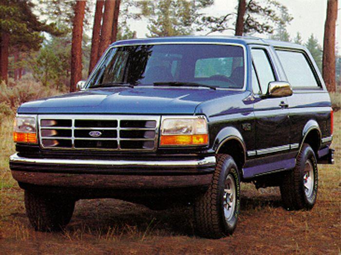 1993 ford bronco specs safety rating mpg carsdirect. Black Bedroom Furniture Sets. Home Design Ideas