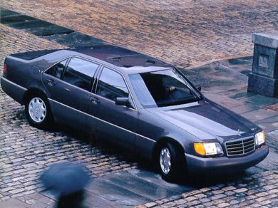 GE 1993 Mercedes-Benz 600