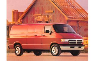 3/4 Front Glamour 1994 Dodge B350 Ram
