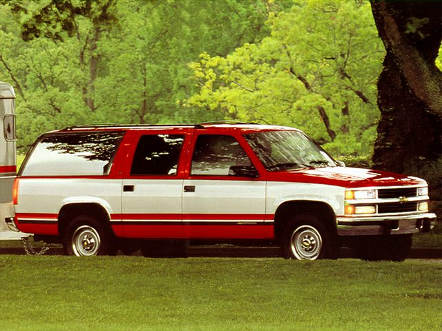 1995 Chevrolet Suburban 1500 Specs Safety Rating Amp Mpg