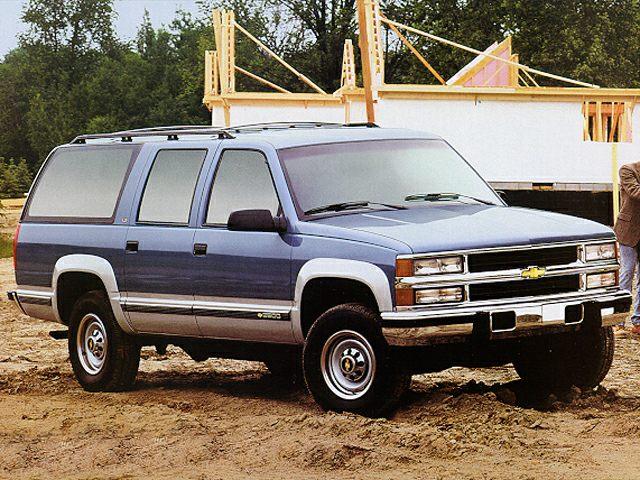 1995 Chevrolet Suburban 2500 Specs Safety Rating Amp Mpg