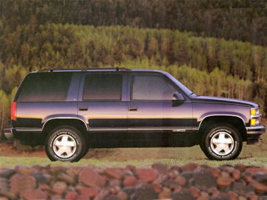 3/4 Front Glamour 1995 Chevrolet Tahoe