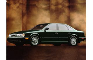 3/4 Front Glamour 1995 Infiniti Q45