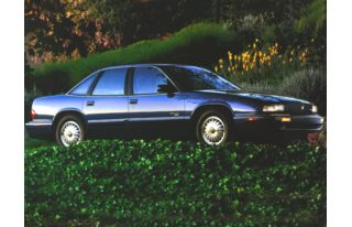 3/4 Front Glamour 1996 Buick Regal