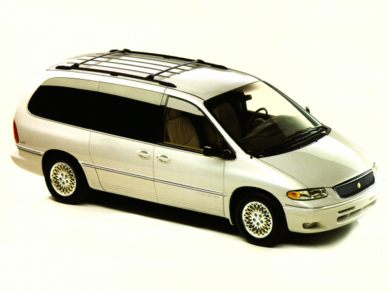 3/4 Front Glamour 1996 Chrysler Town & Country