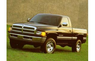 3/4 Front Glamour 1996 Dodge BR1500