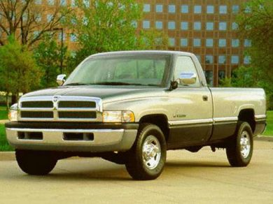 3/4 Front Glamour 1996 Dodge BR2500