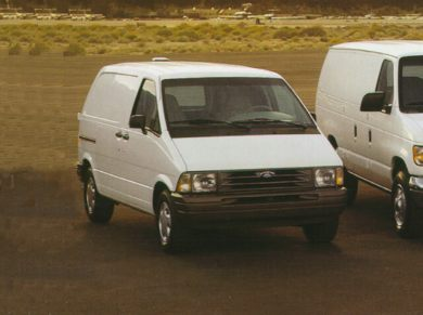 3/4 Front Glamour 1997 Ford Aerostar
