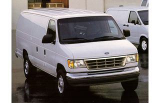 3/4 Front Glamour 1997 Ford E-350