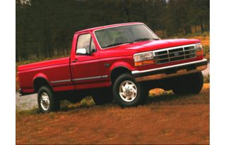 3/4 Front Glamour 1997 Ford F-250