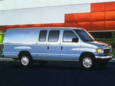 3/4 Front Glamour 1996 Ford E-350