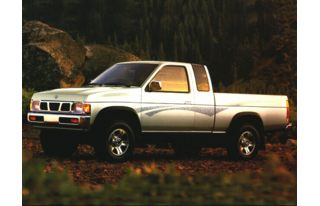 3/4 Front Glamour 1996 Nissan 4x2 Truck