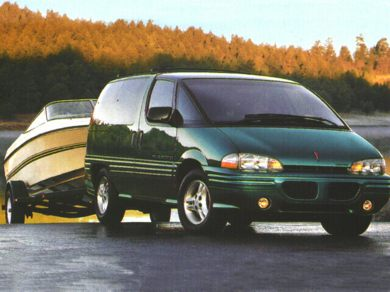 3/4 Front Glamour 1996 Pontiac Trans Sport