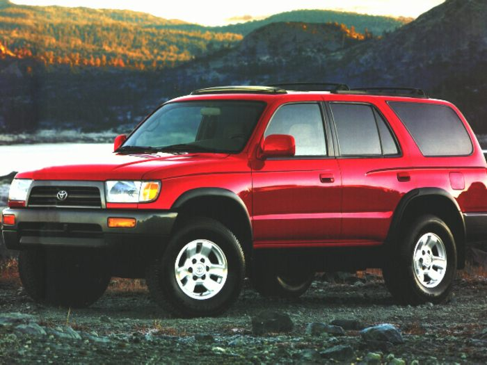 1996 toyota 4runner specs safety rating mpg carsdirect. Black Bedroom Furniture Sets. Home Design Ideas