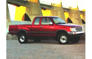 3/4 Front Glamour 1997 Toyota T100