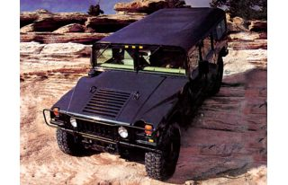 3/4 Front Glamour 1998 AM General Hummer