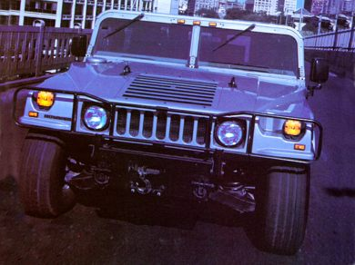 3/4 Front Glamour 1997 AM General Hummer