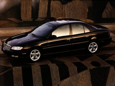 3/4 Front Glamour 1997 Cadillac Catera