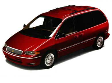 3/4 Front Glamour 1997 Chrysler Town & Country