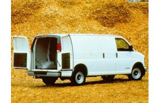 3/4 Front Glamour 1997 Chevrolet Chevy Van