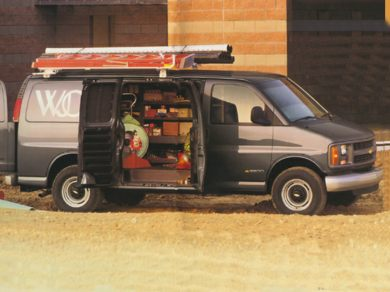 3/4 Front Glamour 1996 Chevrolet Chevy Van