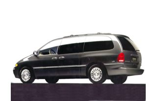 3/4 Front Glamour 1998 Chrysler Town & Country