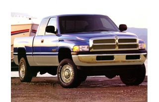 3/4 Front Glamour 1998 Dodge Ram 1500