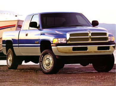 3/4 Front Glamour 1998 Dodge Ram 2500