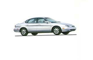 3/4 Front Glamour 1998 Ford Taurus